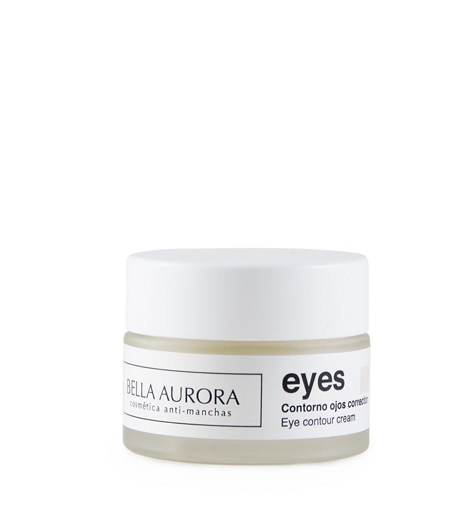 Bella Aurora Eyes Crema Contorno de Ojos Anti-ojeras | Anti-manchas Cara | Anti-edad | Reduce bolsas y ojeras, 15 ml