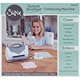 Sizzix 660950 Texture Boutique Embossing Machine, White and Gray