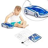 Swiftswan Salzwasser Fuel Cell Auto, DIY Kits Salzwasser Fuel Car Green Energy Montiert Spielzeug für Kinder