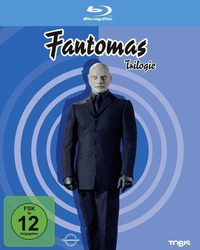 Fantomas - Trilogie [Blu-ray]