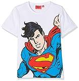 DC Comics Superman Hero, T-Shirt Bambino, Bianco (White Optic White), 3 Anni