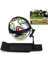 HKFV Amazing Design For Football Lovers,Training Football Kick Trainer Skills Solo Soccer Training Aid Equipment Waist Belt Next Beckham