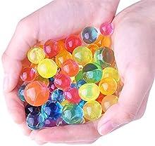 Kuuqa Perlas de Agua Gel Cristalino del Agua Agua Jelly Perla 16 Paquete