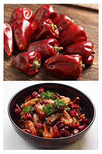 Peppers Whole Dried Red Bell Pepper Szechuan Chili Pods Peppers Premium Hot  Super Spicy Dry Chilly Chinese Seasoning Spicy and Delicious Recipes Deng