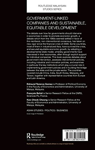 Government-Linked Companies and Sustainable, Equitable Development (Routledge Malaysian Studies Series)