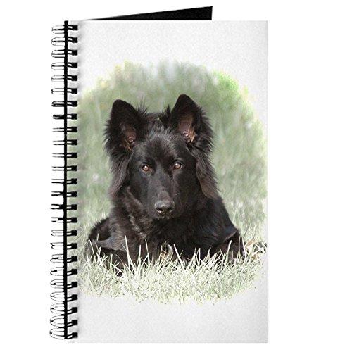 (CafePress–Lange beschichtet Deutscher Schäferhund–Spiralbindung Journal Notebook, persönliches Tagebuch, Dot Grid)