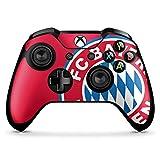 DeinDesign Skin Aufkleber Sticker Folie für Microsoft Xbox One X Controller FCB Fanartikel Merchandise FC Bayern München