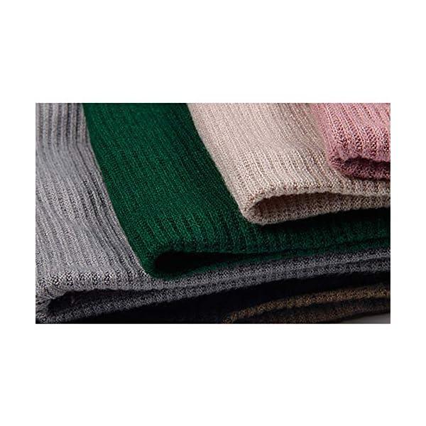 LAAT 1PCS Cuello de Bufanda Bufanda Multiusos Invierno De Las Bufandas De Cuello Collar Bufanda Cuello de Cuello de… 2