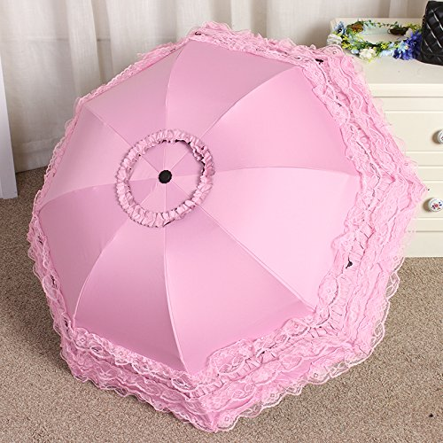 Sasan der Sonnenschirm aus Spitze Sonnenschirm UV-Sonnenschutz Sonnenschirm Regenschirm Regenschirm...