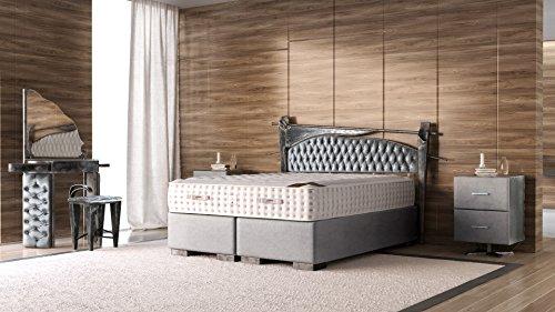 Schlichter Möbel Boxspringbett Industrial Design Set II UNIKAT