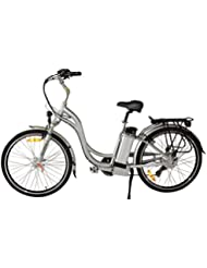 Fenetic Energy step through Electric bike E-bike with throttle and suspension