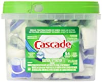 Cascade Actionpacs Fresh Scent Dishwasher Detergent, 54 count, 34.3 oz