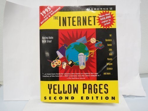 The Internet Yellow Pages (Harley Hahn's Internet and Web Yellow Pages) by Harley Hahn (1995-01-03) Stout Hahn