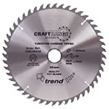 Trend CSB/16048A TREND CSB/16048A Craft Saw Blade 160mm x 48T x2.2x20mm - Silver