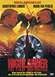Highlander: The Final Dimension (Special Director's Cut) by Christopher Lambert