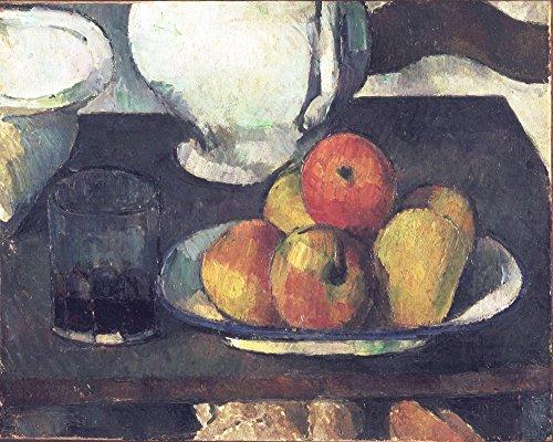 Das Museum Outlet-Stillleben mit Äpfel und ein Glas Wein, 1877-79, gespannte Leinwand Galerie verpackt. 96,5x 121,9cm
