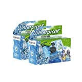 Fujifilm Disposable QuickSnap Waterproof Pool Underwater 35mm Camera Pack of 2