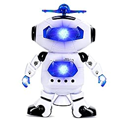 A R ENTERPRISE MUSICAL ROBOT WITH LIGHTING