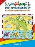 LernSpielZwerge Mal- und Rätselbuch – Schwungübungen und Koordination