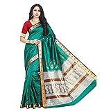 Craftsvilla Silk Saree With Blouse Piece (MCRAF19656885820_Green_Free Size)