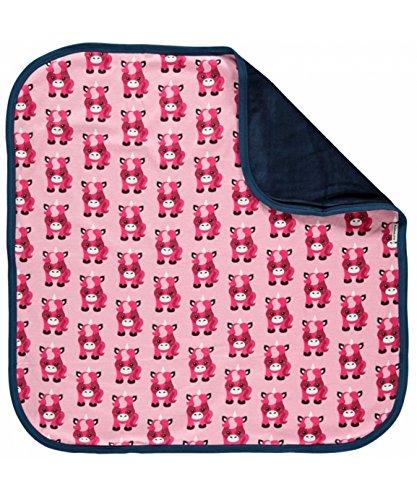 Preisvergleich Produktbild maxomorra Baby Mädchen Decke Einhorn Rosa UNICORN