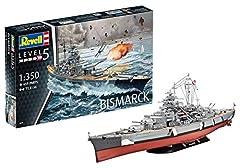 Idea Regalo - Revell 05040 - Nave da Guerra Bismarck