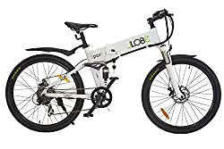 LLobe Erwachsene Elektrofahrrad Sport Weiß, One size