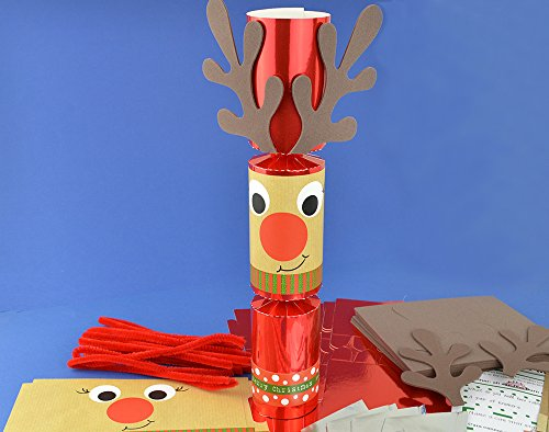Uppy the best amazon price in savemoney 8 red foil standy uppy rudolph make your own christmas crackers kit solutioingenieria Gallery