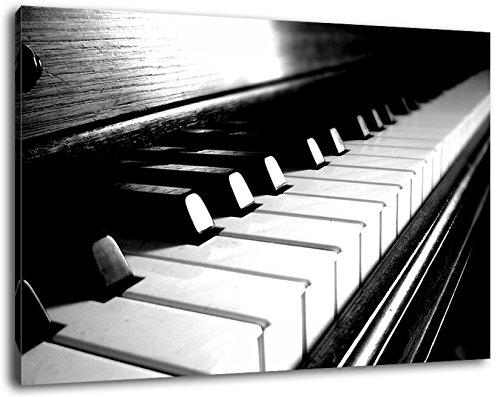 Elegantes-Klavier-Leinwand-Bild-Format120x80-cm-Bild-auf-Leinwand-bespannt-riesige-XXL-Bilder-komplett-und-fertig-gerahmt-mit-Keilrahmen-Kunstdruck-auf-Wand-Bild-mit-Rahmen-gnstiger-als-Gemlde-oder-Bi