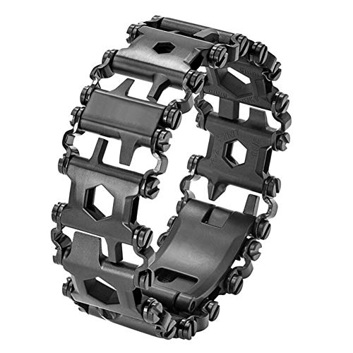 Hihey Kreative Multifunktionsarmband Armband Schraubendreher Flaschenoeffner Outdoor Survival Notfall Tools leichte Armband 29 Zoll