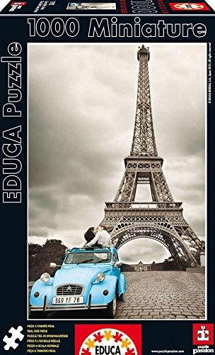 Educa  15192 1000 - Torre Eiffel, Paris, Miniature