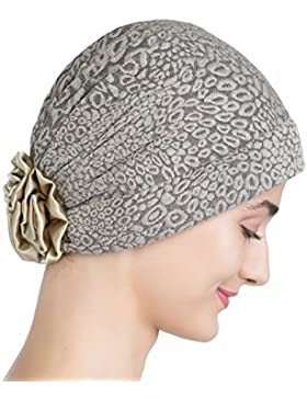 sombrero de brocado para la caída del cabello, cáncer, quimioterapia