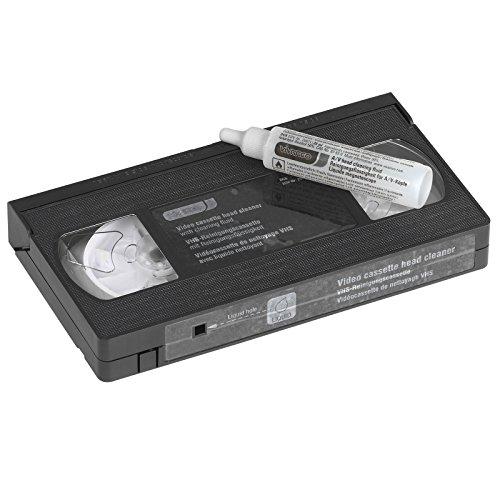 Vivanco VHS-Reinigungscassette für Aufnahme und Wiedergabeköpfe