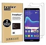 iVoler [Pack de 2] Verre Trempé pour Huawei Y9 2018, Film Protection en Verre trempé écran Protecteur vitre