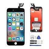 Ecran Tactile LCD Remplacement Vitre Digitizer pour iPhone 6s (4.7) avec Kit de Réparation (noir)