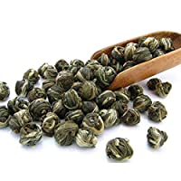 Tealyra Imperial Jasmine Dragon Pearls Green Tea Loose Leaf - 4oz / 110g