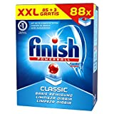 Finish Classic, Spülmaschinentabs, Vorratspack, 88 Tabs (85 + 3 Stück gratis)