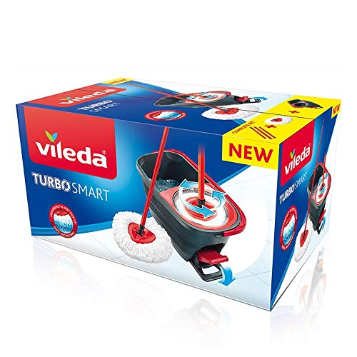 New Mocio VILEDA TURBO SMART con secchio a pedale