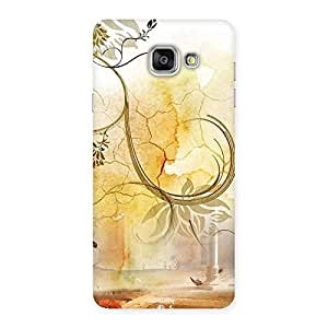 NEO WORLD Premium Nature Pattern Back Case Cover for Galaxy A7 2016