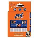 Cléoptre - POMAX11RCT - Pack de 11 Btons de Colle - Pistolet à Colle Cléo'Stick MAX