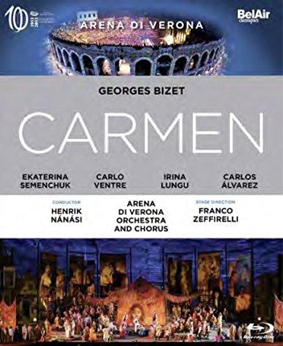 Bild von Bizet: Carmen (Semenchuk/Alvarez) - High Definition recording June 2014, Verona Arena [Blu-ray]