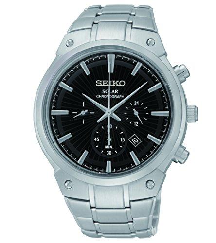 seiko-ssc317-herren-core-solar-chronograph-schwarz-texturierte-zifferblatt-stahl-armband-armbanduhr
