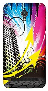 TrilMil Printed Designer Mobile Case Back Cover For Asus Zenfone C ZC451CG