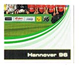 No.256 Hannover 96 - Team Group - Part 4 - Bundesliga Fussball 2007/2008 - Panini