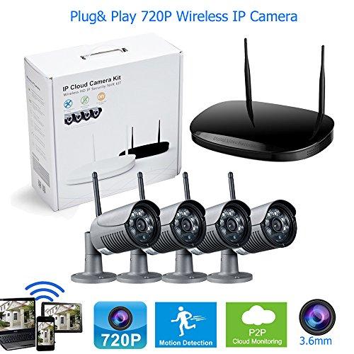 4-Cmara-HD-720P-Wifi-inalmbrico-al-aire-libre-vigilancia-Bullet-cmara-sistema-36mm-lente-6pcs-IR-LED-monitor-de-vdeo-con-1-TB-de-disco-duro
