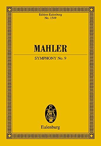 Sinfonie Nr. 9: Orchester. Studienpartitur. (Eulenburg Studienpartituren)