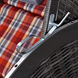 Strandkorb Trendy Pure Classic Sun Grey - 7