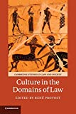 Culture in the Domains of Law (Cambridge Studies in Law and Society)