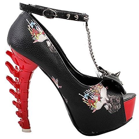 Voir l'établissement histoire femmes Sexy rouge noir papillon goujons impression