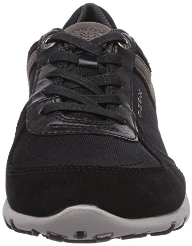 Geox D Freccia A, Baskets Basses Pour Femmes Noires (schwarz (blackc9999))